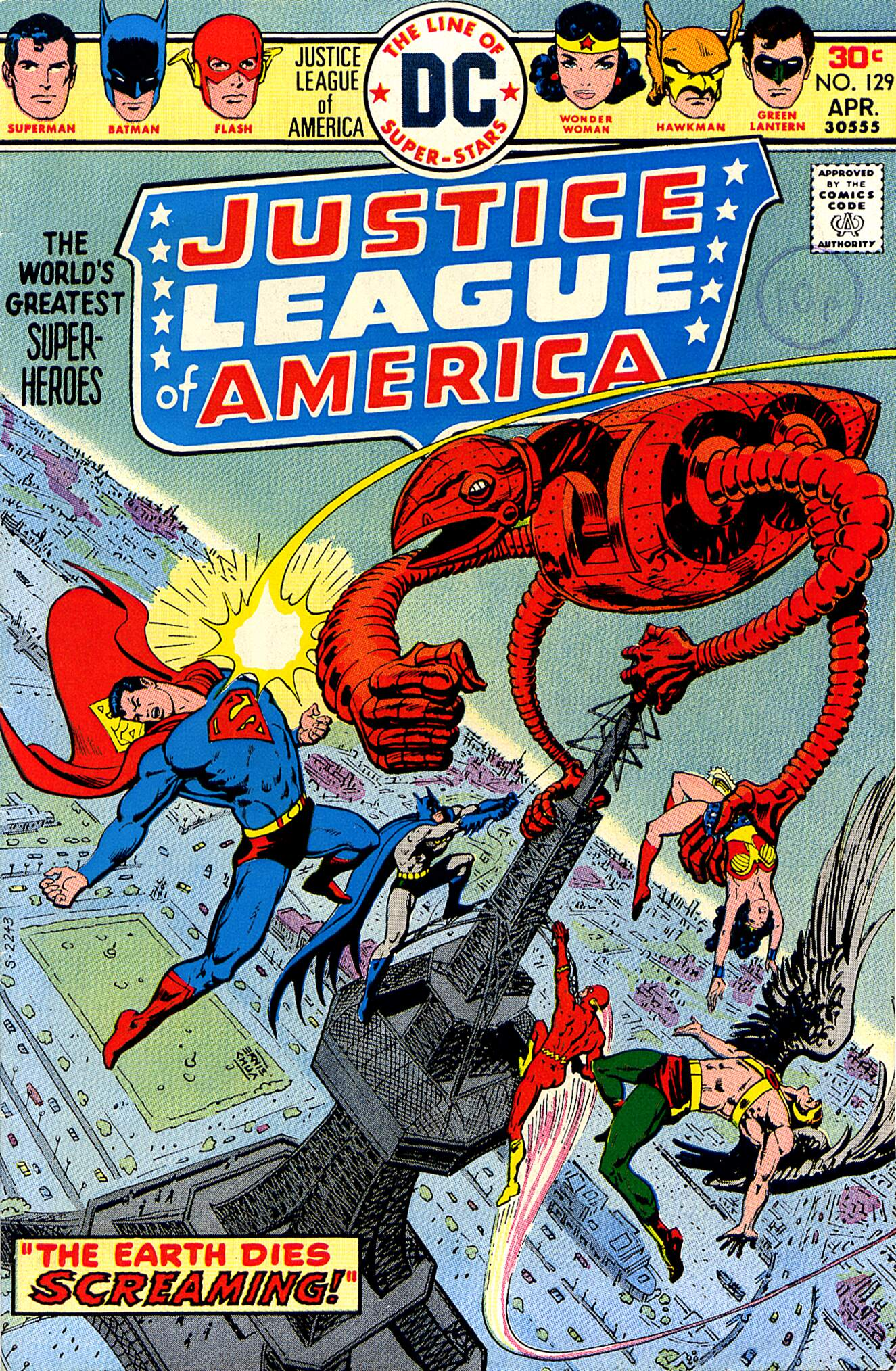 Justice League of America (1960) 129 Page 1