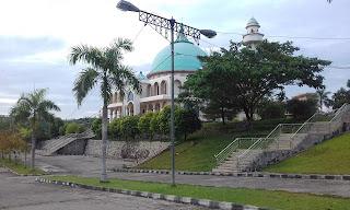 Masjid Agung Raya Baturaja Kab.Oku