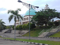 Memfhoto Masjid Agung Raya Baturaja Kab.OKu