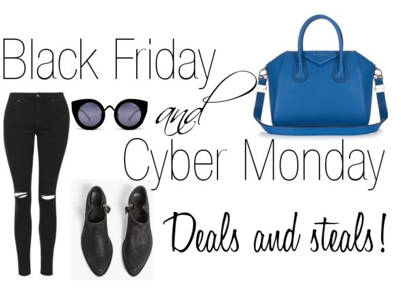 Black Friday & Cyber Monday fashion deals