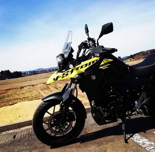 Suzuki V-Strom 250 Kuning