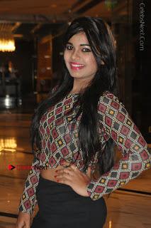 Indian Actress Model Naveena Jackson Latest Po Gallery in Black Mini Skirt  0012.JPG