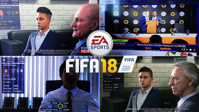 FIFA 19 player negotiations and transgers