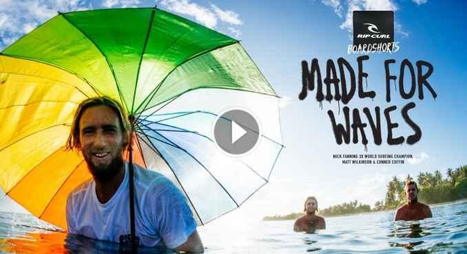 Made For Waves Maldives Spring Boardshorts 2018