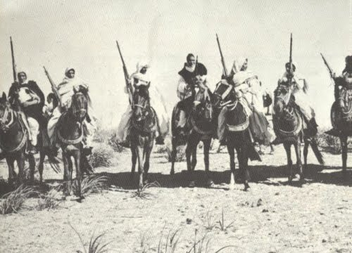 Omar Mukhtar with the Libyan Mujahideen