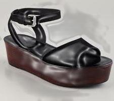 Sandalias de plataformas