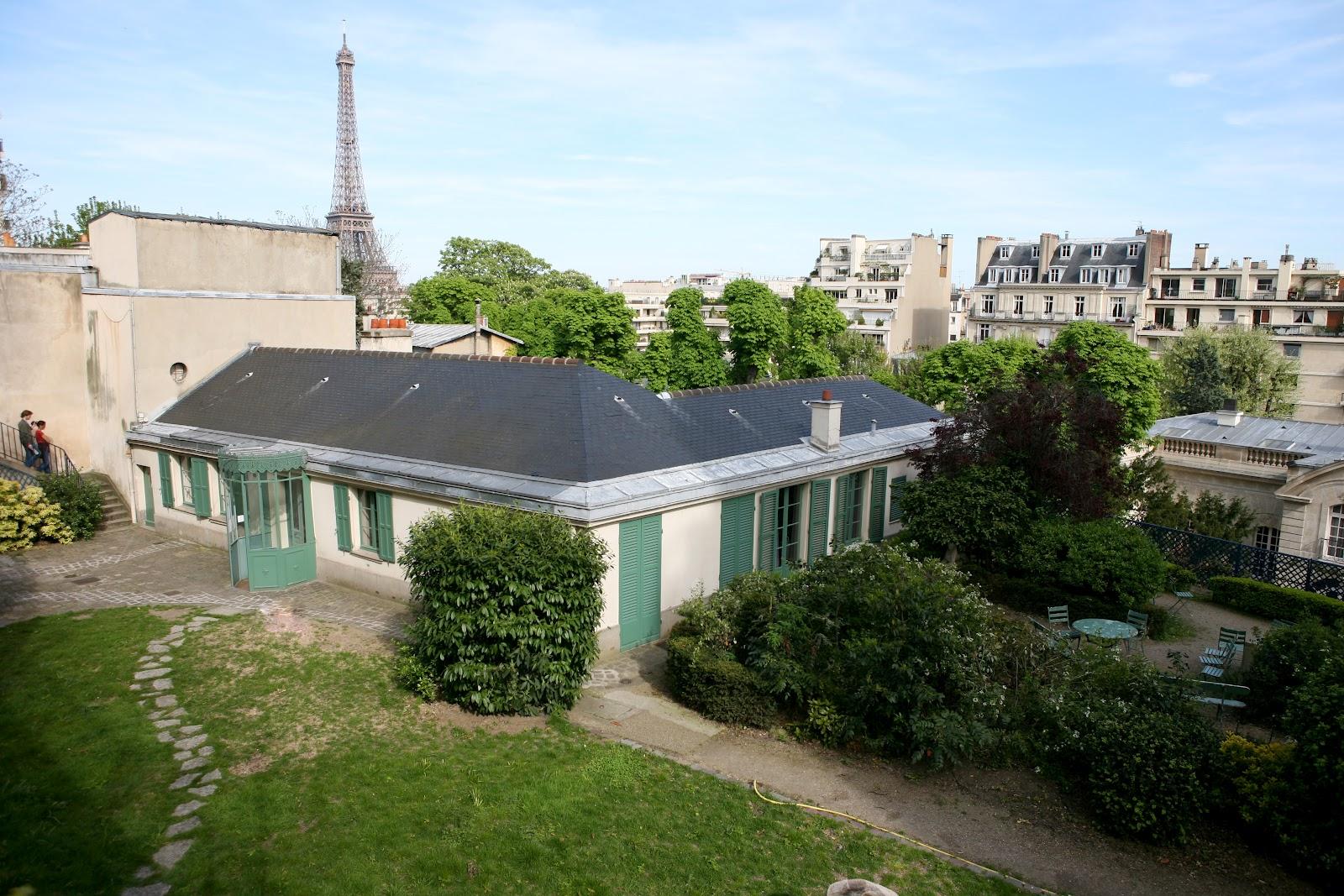 museums in paris france maison de balzac museum in paris france. Black Bedroom Furniture Sets. Home Design Ideas