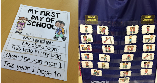 First Day of School- 4 tips to help!