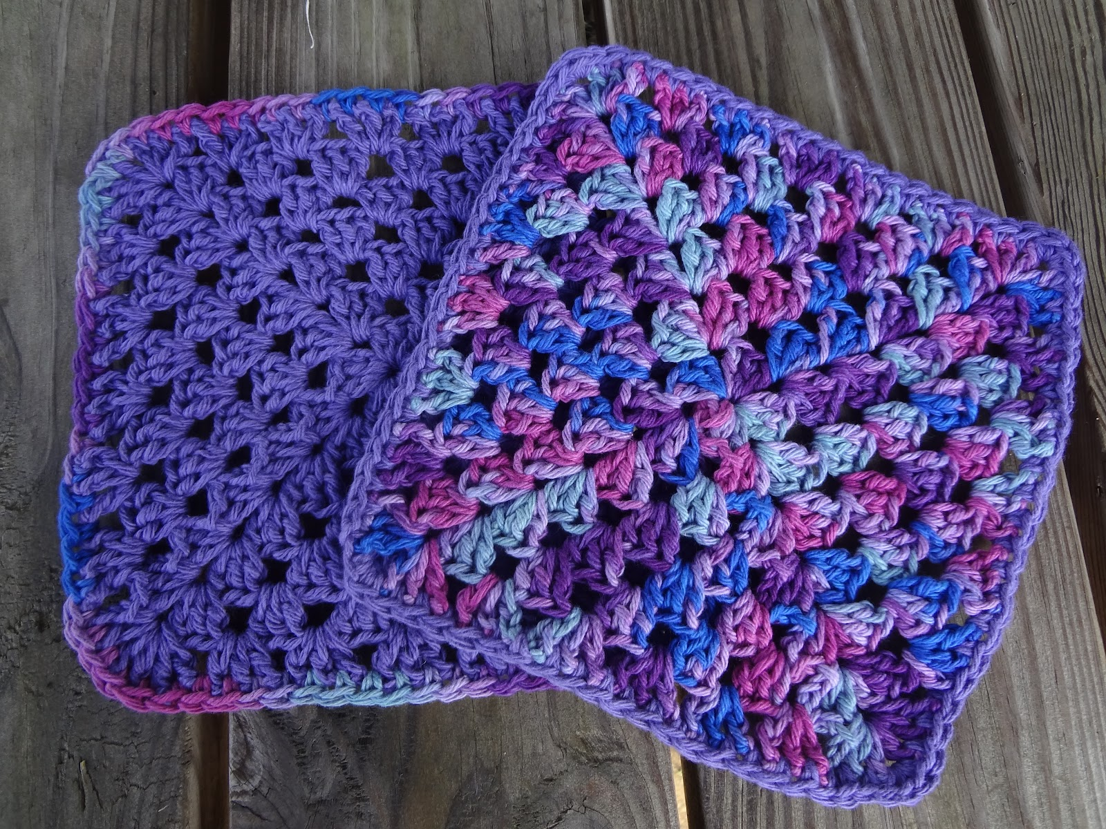 Fiber Flux Free Crochet Patternanny Berry Dishcloths