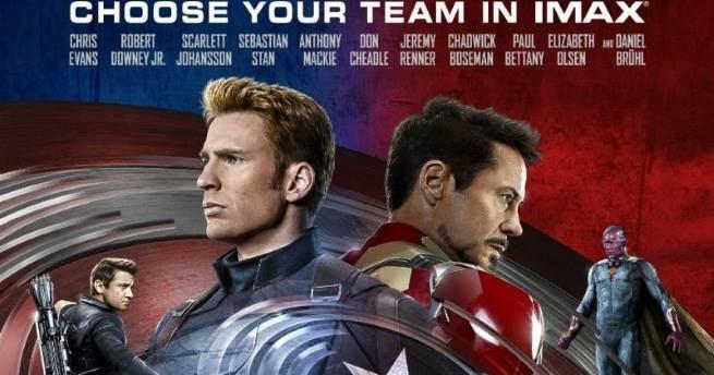 Captain america 3 release date in Sydney