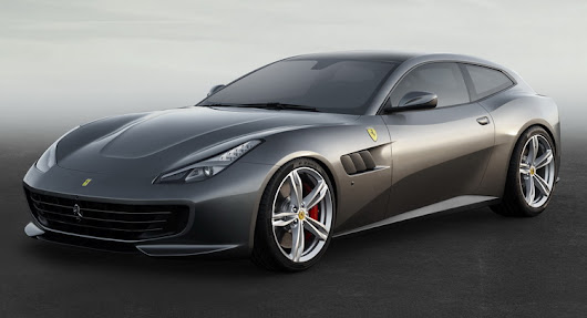 Forget The FF; Ferrari GTC4Lusso Revealed Prior To Geneva Debut