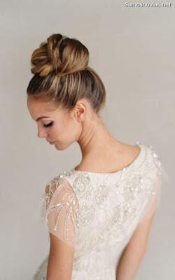 Peinado de novia 2019