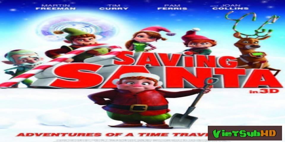 Phim Giải Cứu Ông Già Noel VietSub HD | Saving Santa 2013