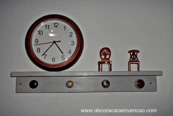 1 Projeto por Mês - Cabideiro DIY