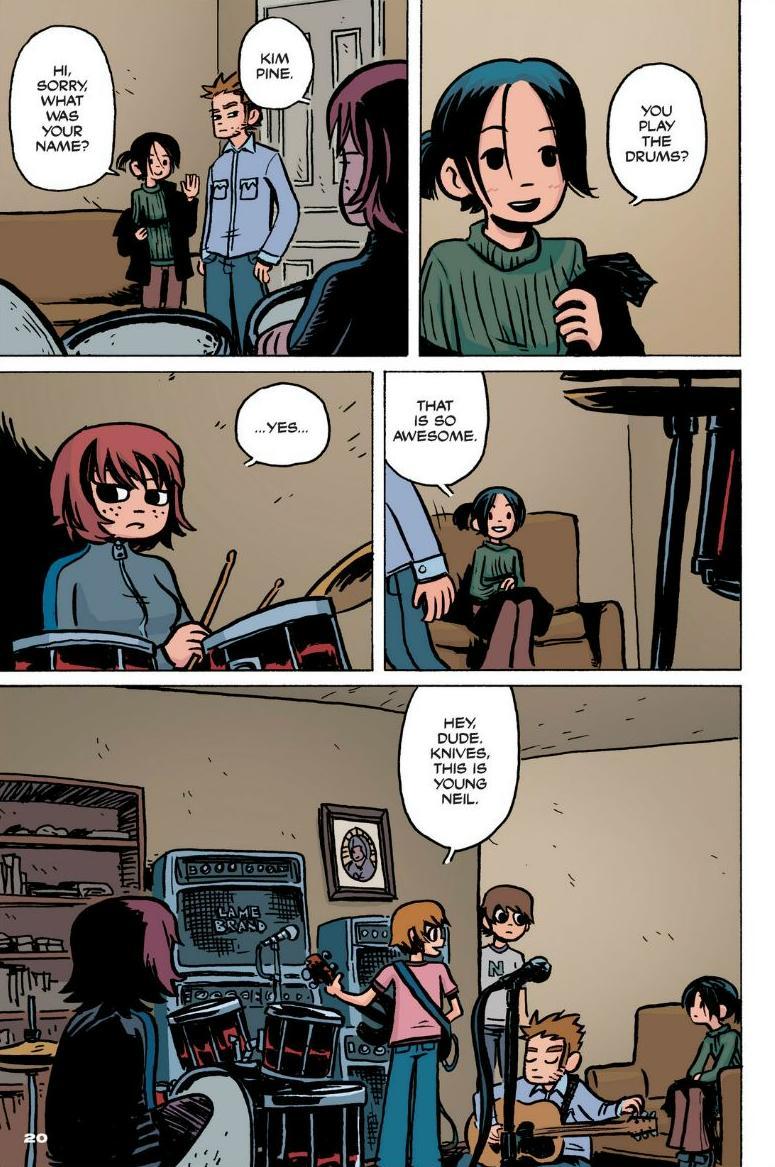 Read online Scott Pilgrim comic -  Issue #1 - 15