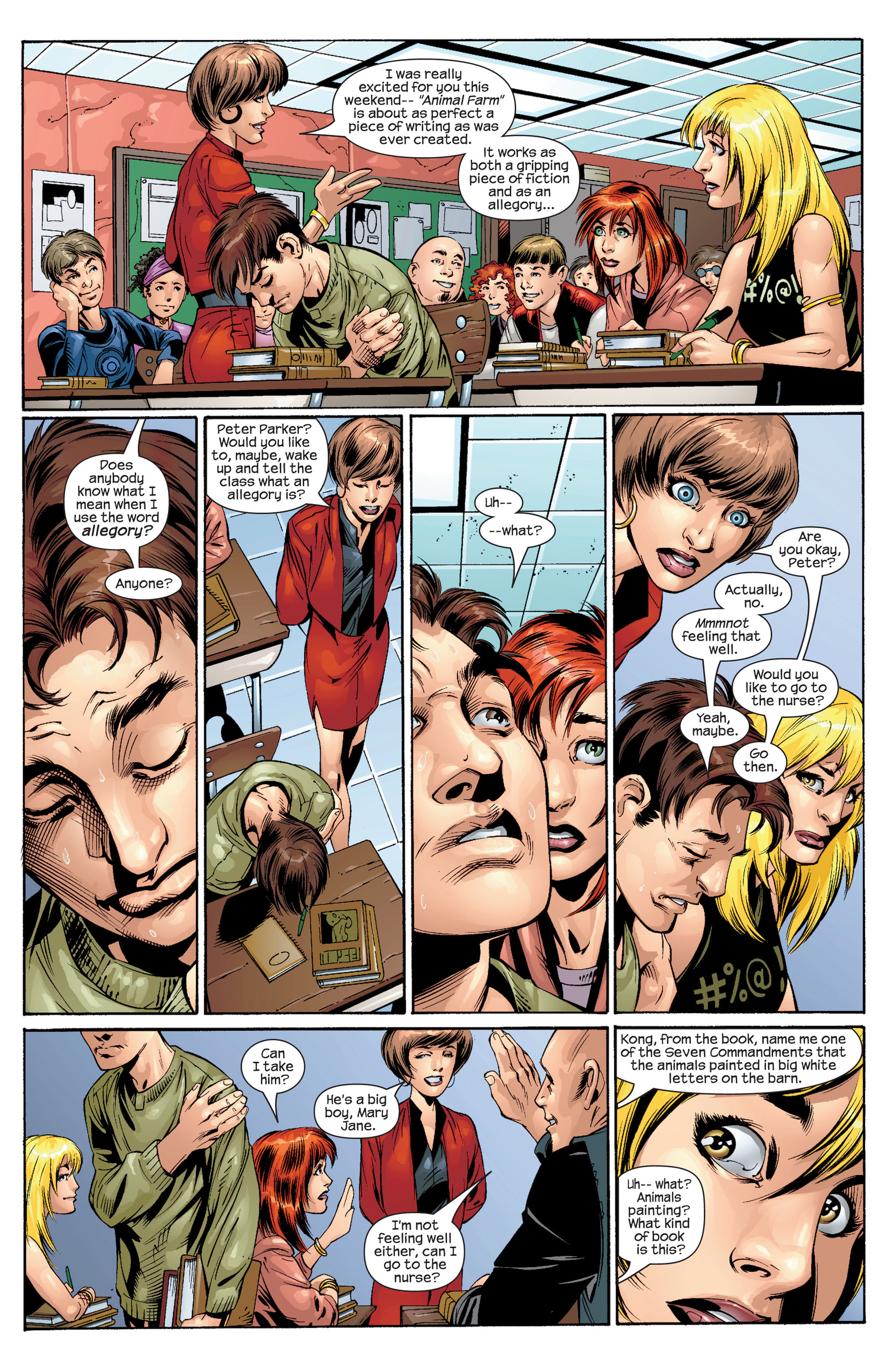 Read online Ultimate Spider-Man (2000) comic -  Issue #31 - 5