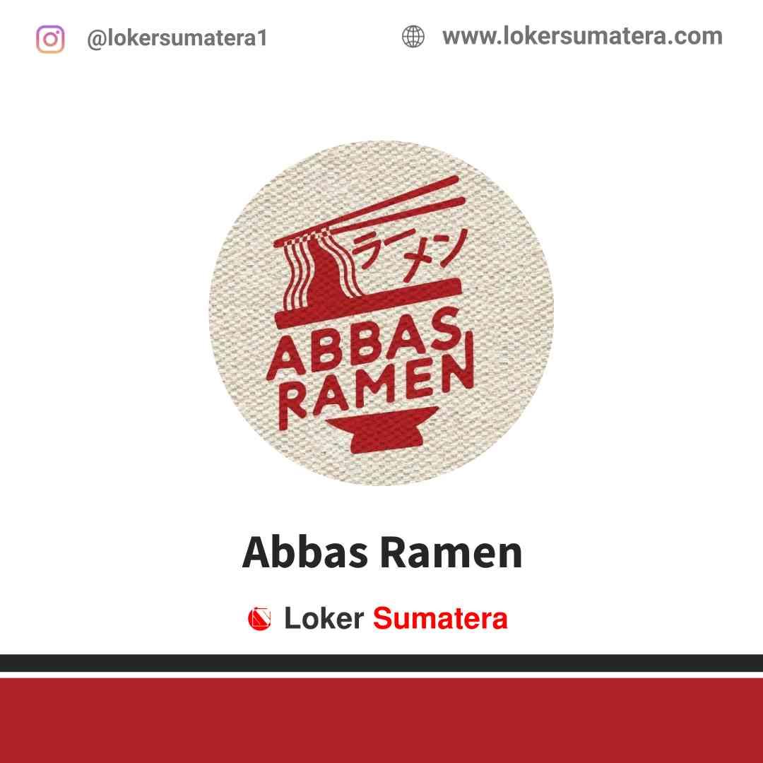 Lowongan Kerja Jambi, Abbas Ramen Juli 2021