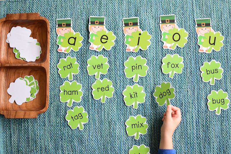 St. Patrick's Day Preschool Mini Unit