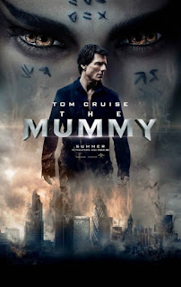 THE MUMMY 2017 movie poster