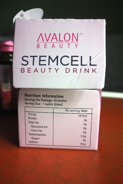 avalon stencil beauty drink nutritional information review