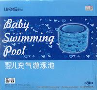 Kolam Renang Bayi Unme QQBB(Y) 4-Ring Bulat0