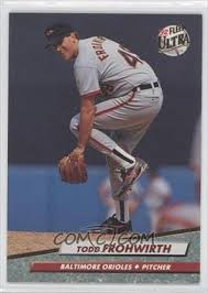 Todd Frohwirth- American Baseball Player