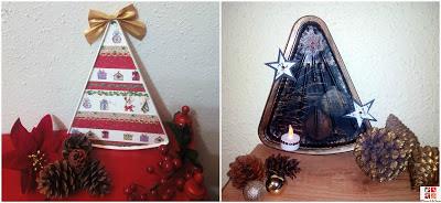 arboles de navidad reciclados