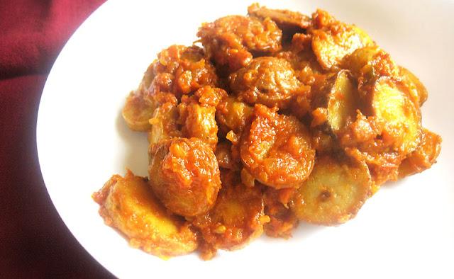 Spanish Potato Slices