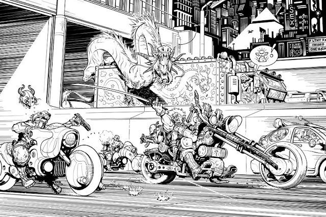 Highway Samurai by InkThinker
