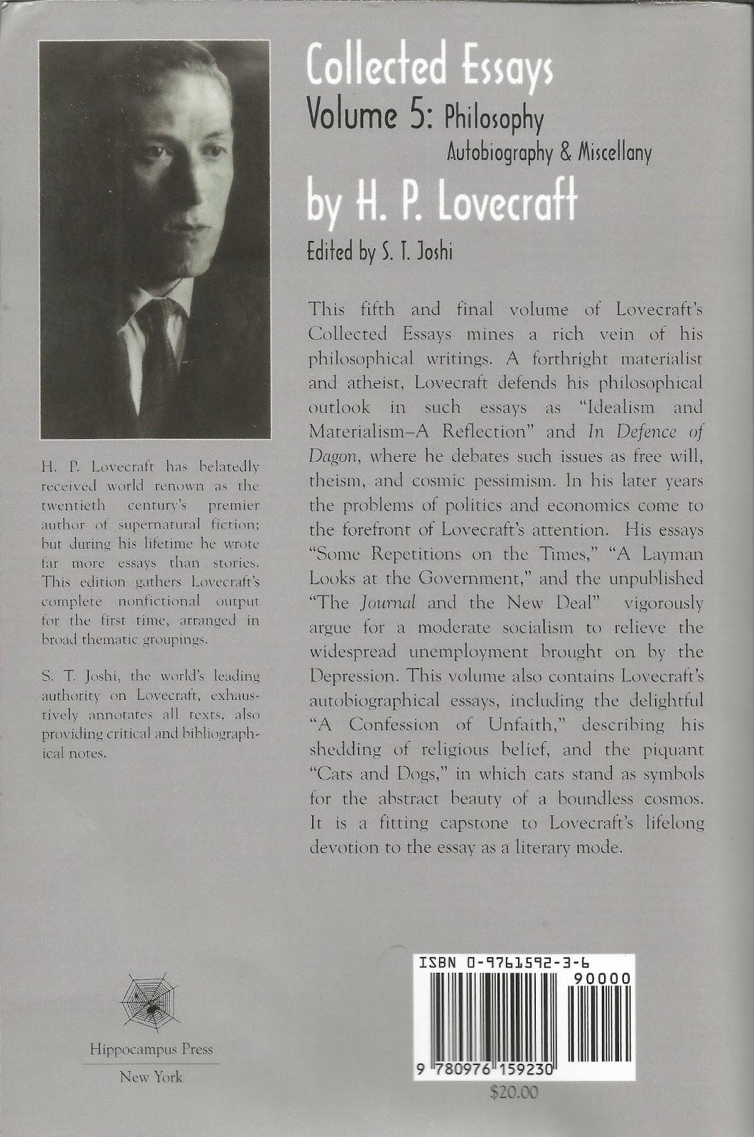 H.P. Lovecraft's Weird Body
