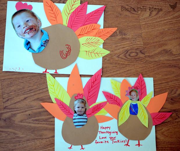 Easy Turkey Crafts for Kindergarten
