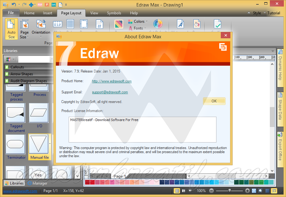 crack edraw max 7.9