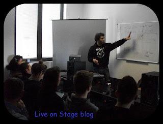 live on stage corso audio MMI Sarzana