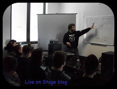 Gian Luca Cavallini corso sound engineer