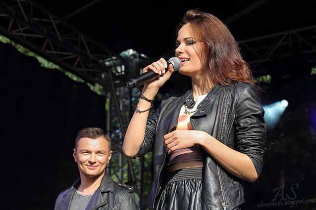 Natalia Szroeder i Liber - Kobierzyce 24.08.2014
