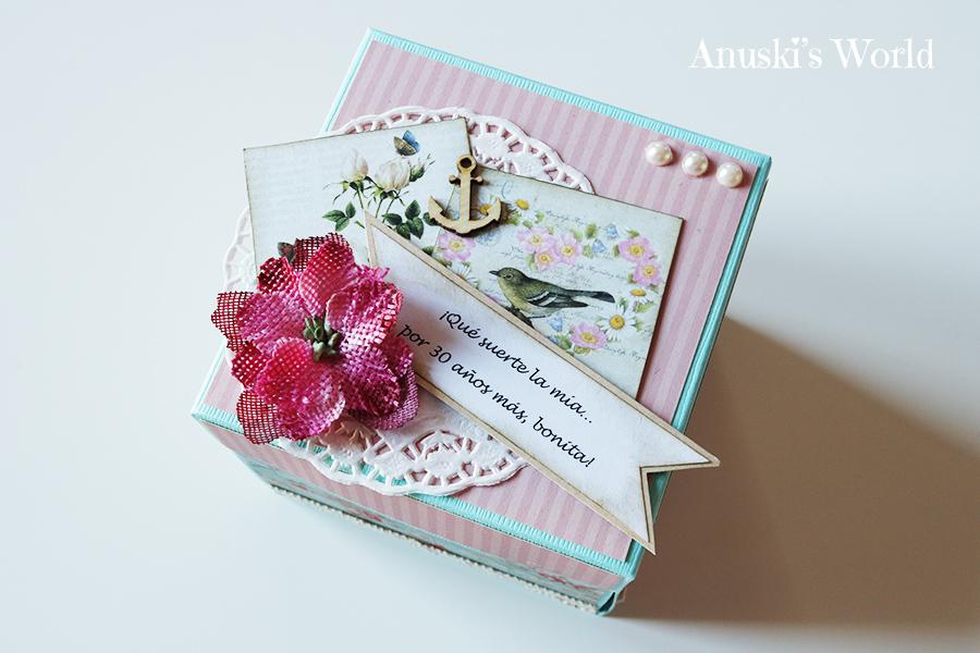 Caja sorpresa lbum 30 cumplea os para regalar a una amiga - Sorpresa cumpleanos amiga ...