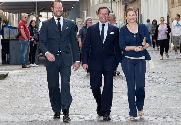 Princess Stephanie and Prince Felix voted for EU elections