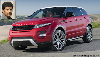 Santhanam- Range Rover Evoque