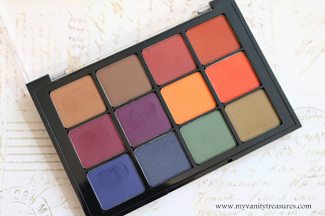 viseart dark matte palette review