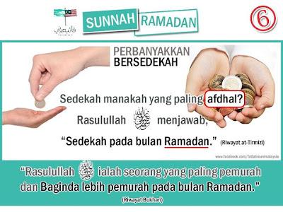 Bersedekah di Bulan Ramadhan