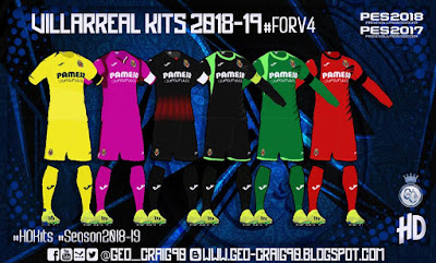 PES 2019 Kitpack HD Season 2018/2019 by Geo_Craig90