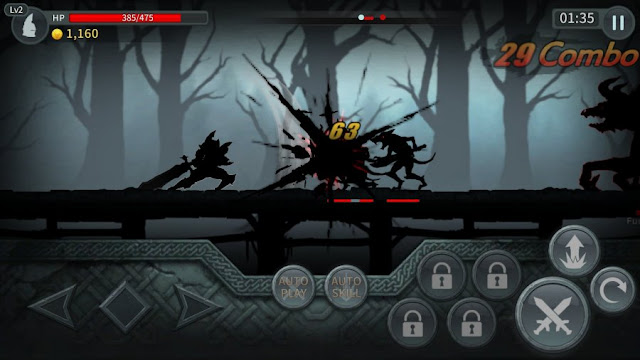 Screenshot Game Dark Sword Android