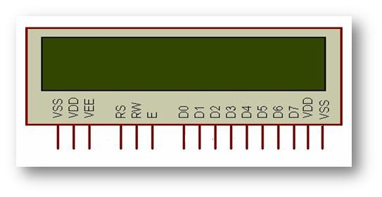 Elearning  How 16x2 Alphanumeric Lcd Works