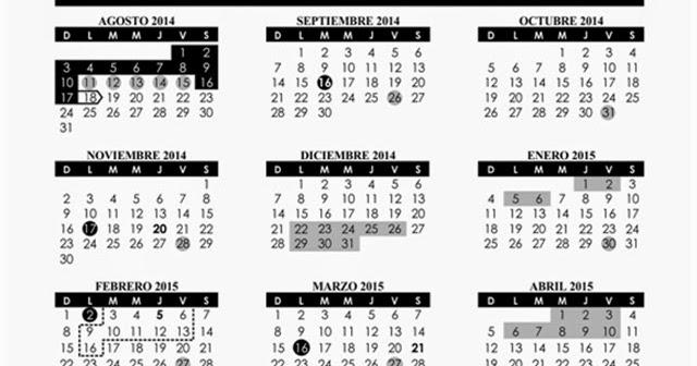 Educación Café: Publica la SEP el calendario del ciclo