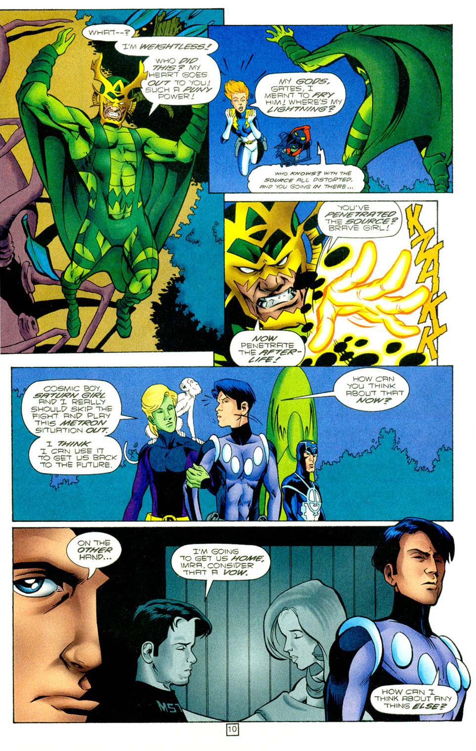 Legion of Super-Heroes (1989) 97 Page 9