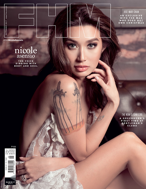 Nicole Asensio on the cover of FHM's September 2017 issue