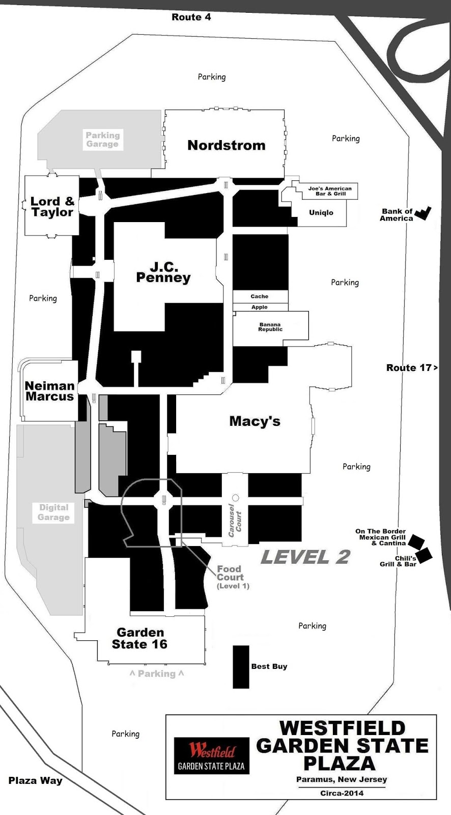 MALL HALL OF FAME Garden State Plaza Store Map on valley fair store map, garden state shooting, lenox square store map, houston galleria store map, lloyd center store map, towson town center store map, glendale galleria store map, southcenter store map, polaris fashion place store map, sawgrass mills store map, westfield garden state plaza map, bellevue square store map,