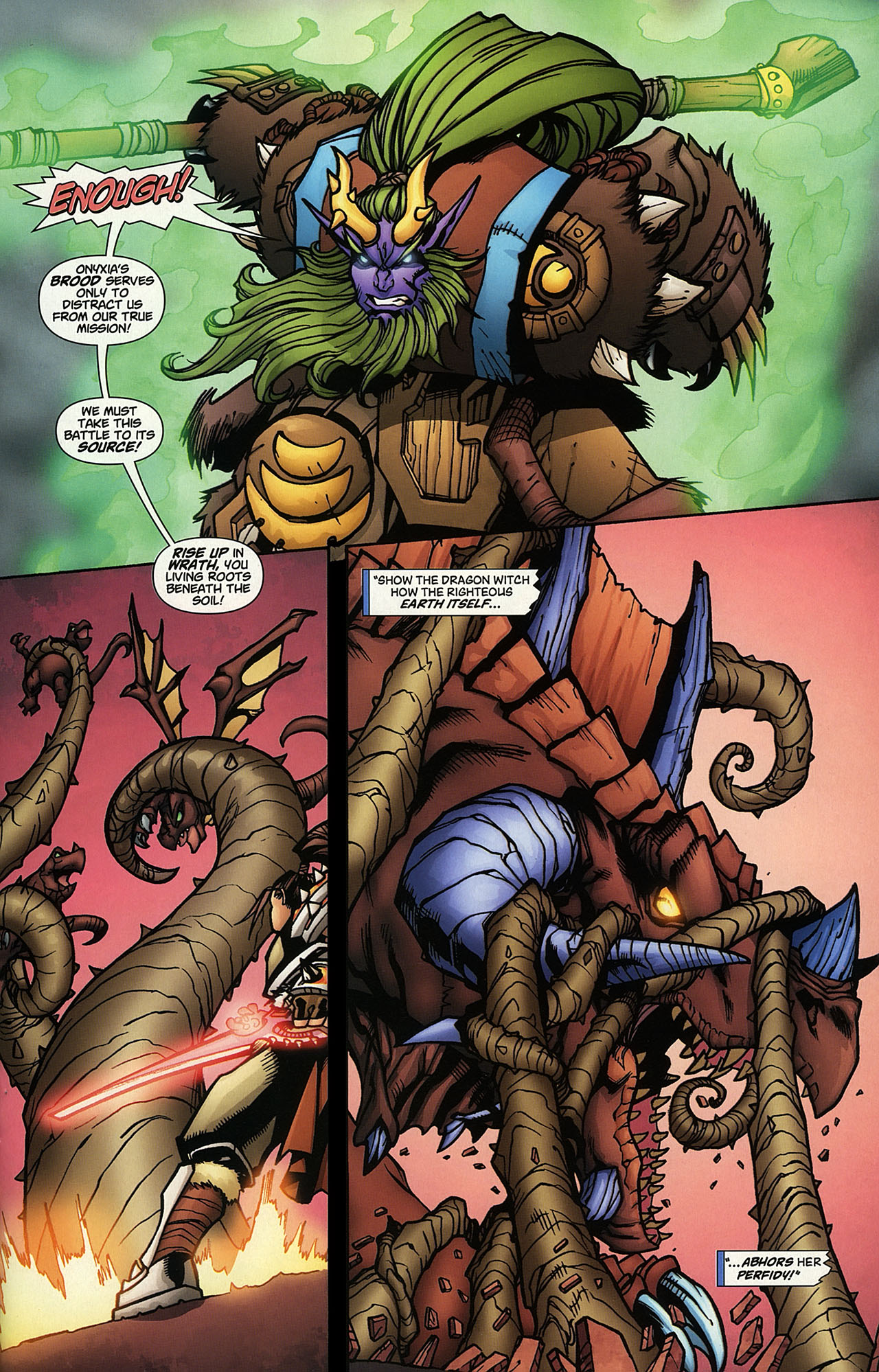 Read online World of Warcraft comic -  Issue #14 - 15