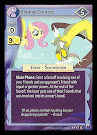 My Little Pony Staring Contest Canterlot Nights CCG Card