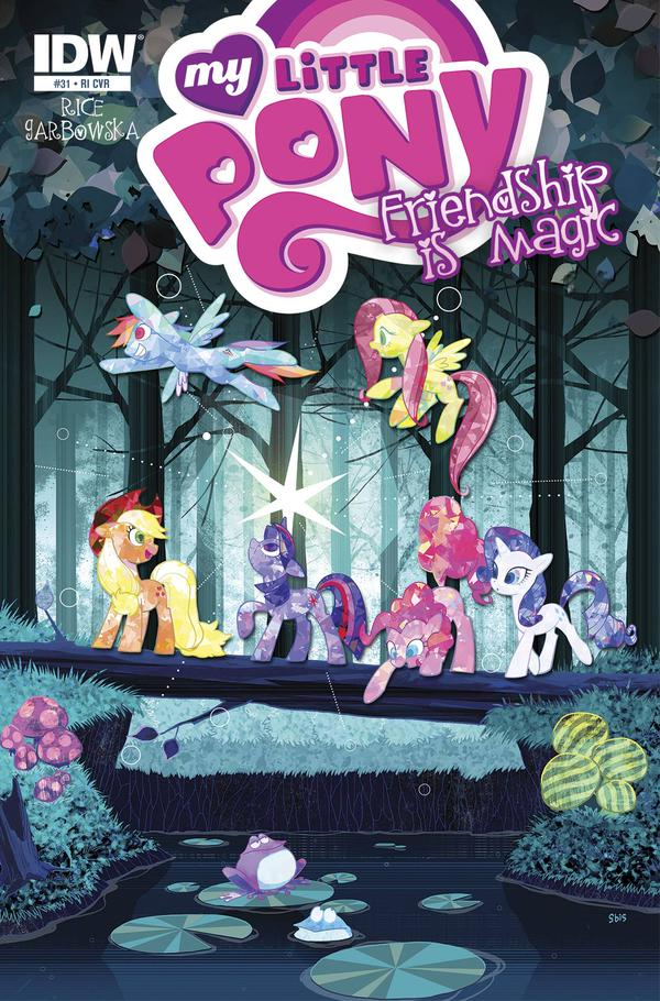 My Little Pony Friendship is Magic #31 Comic RI Cover